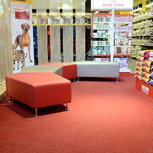 velour excel - fibre bonded carpet tiles