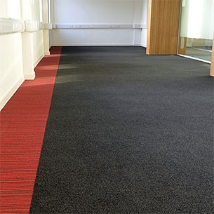 origin - cut pile - contract carpet tiles
